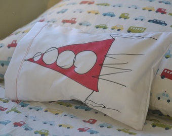 Space ship pillow
