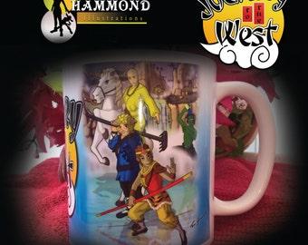Journey to the West mug