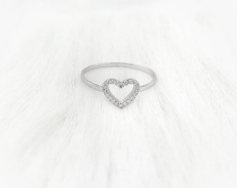 Amor Silver Ring