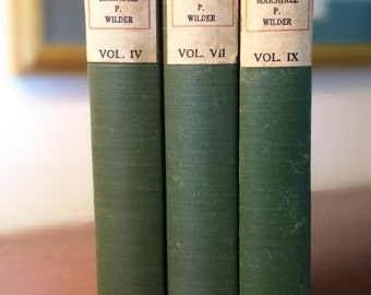 The Wit and Humor of America/Volumes IV, VII, IX/Marshall P. Wilder