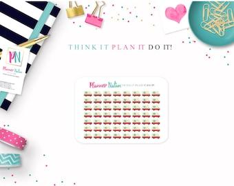 56 - Happy Mail / Postal Truck Planner Stickers - Perfect for Erin Condren, Happy Planner, Filofax, Plum Planner, Kikki K and more!