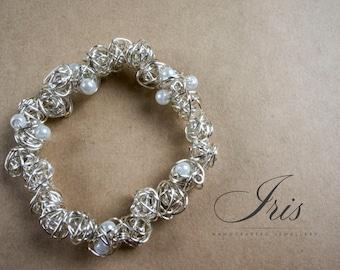 Ava Pretty Wirewrapped Bracelet