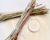 Sweet Grass Smudge Bundle, Sweetgrass Herb, Cleansing Home Blessing, Clearing Negative Energy, Native American Ritual, New Age Spiritualism