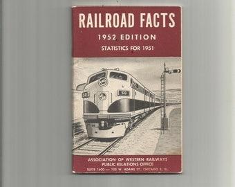 Railroad facts 1952 edition statistics rock island lines