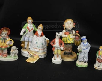 Seven Japan/Occupied Japan Figurines