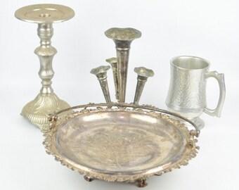 Vintage Silverplate Items