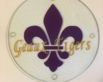 LSU Trivet- Geaux Tigers!
