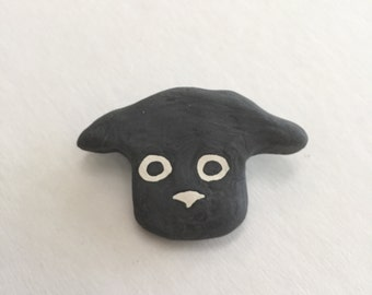 black lab pin