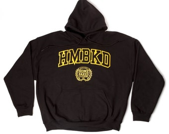Home Baked Clothing Hoodie (Black/Yellow)
