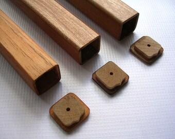 3 Pieces Cigar Case, wood cigar case, Tubes, Cigars, Cedar Tubes, Cedar Cigar Tubes, Cigar Accesories, Travel Cigar Case, Cigar Case