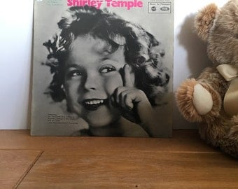 Shirley Temple. Little Miss Wonderful - 1960s Childrens Vintage Vinyl Record. MFP 1141