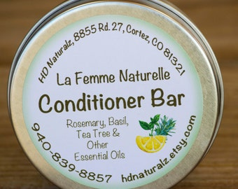 Conditioner Bar, Vegan, Vegan Conditioner, Hair Conditioner Bar, Solid Conditioner, Hair Conditioner, Conditioner, Travel Conditioner