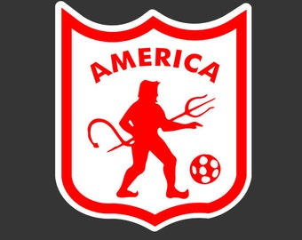 Club America Car Decal/ sticker