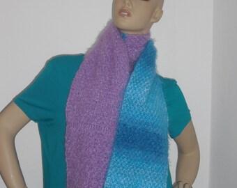 Scarf - shawl - wool scarf - knit scarf-