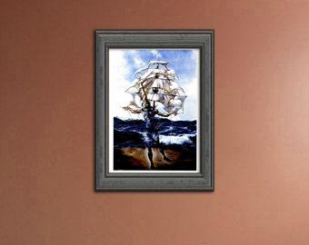 The Ship - Salvador Dali | HAD1268