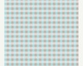 ON SALE Riley Blake, Twice as Nice, Spice Plaid in Blue, The Quilted Fish, 1 yard C3525
