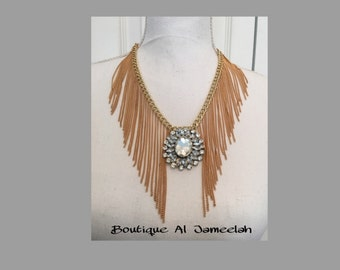 Crystal Waterfall Necklace