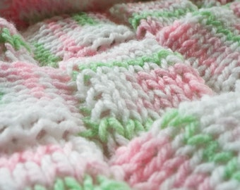 Pink Pastel Enterlac Baby Blanket