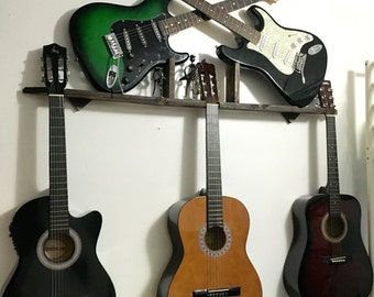 Acoustic/Electric guitar wall hanger