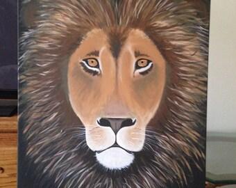 Custom 24x36 acrylic painting