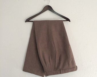 80's Women's High Waisted Pleated Pants