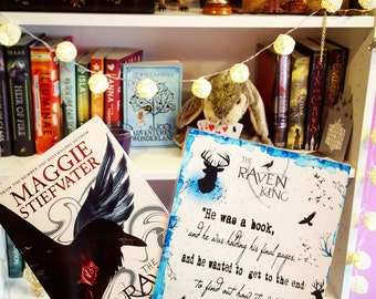 The Raven King poster - Handmade
