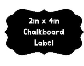 Chalkboard Labels, Set of 6, Chalkboard Stickers, Classroom Vinyl, Custom Vinyl, Classroom Aide, Classroom Organization, Chalkboard Vinyl