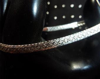 Vintage Sterling Silver Bracelet Signed HAN