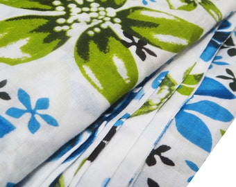 Dress Making Printed Cotton Fabric With White Color Indian Crafting Sewing Crafting Material Indian Fabric By 1 Yard ZBC5109