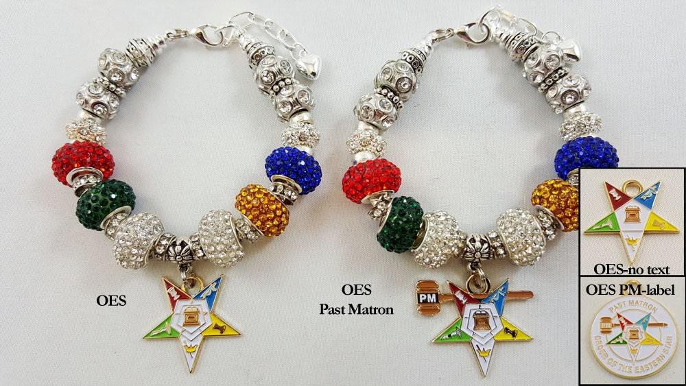 order of the eastern european charm bracelet oes charm