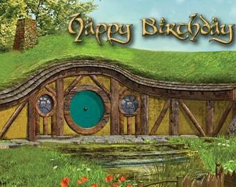 Hobbit Birthday Card