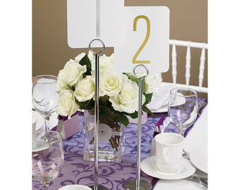 """Table Number Stands 