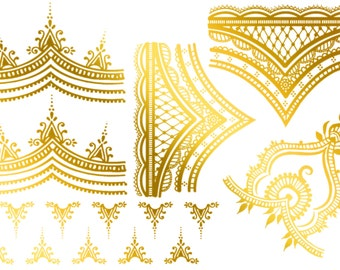 Flash Tattoos! Henna Style for the hands