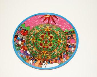 Decorative Clay Plate, 11''length
