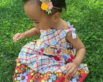 Newborn headbands, flower headbands, girls outfit, newborn outfit, hair accessories, baby headbands, headband for baby, photo prop for baby