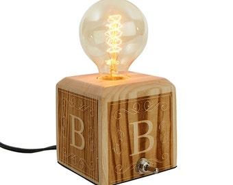 Edison table lamp | Etsy