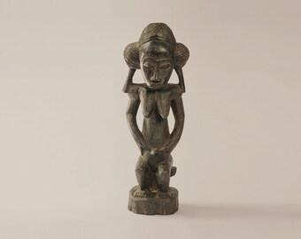 Baoule-African Art statue (female)