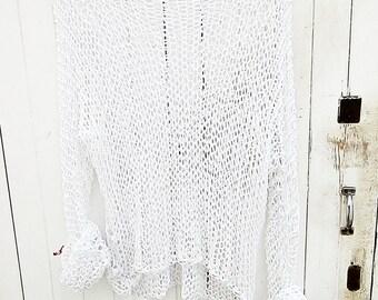 Cotton Handknit Sweater