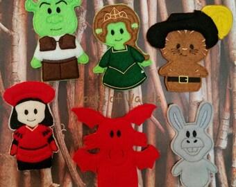 Swamp Friends Finger Puppet Set