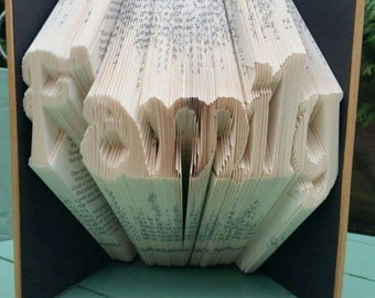 Family Book Folding Pattern, 348f, Plus Free Beginners Tutorial
