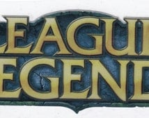League of Legends Decal / Weatherproofed Glossy Sticker (12cm x 5cm)