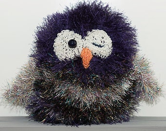 Glitterazi Owl Purple Peter