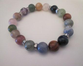Bracelet gemstone varias(todos signos de zodiaco)
