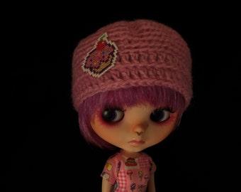 Blythe Cupcake Crochet Hat