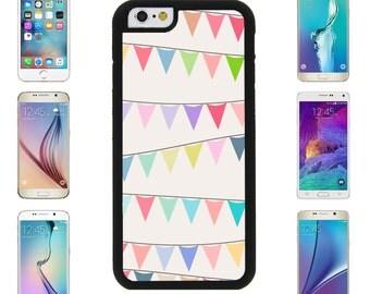 Flag Banner Multicolored Cover Case for Apple iPhone 7 7 Plus 6 6S Plus Samsung Galaxy S7 Edge S6 Plus Note 5 6 7 8 9 10 att sprint verizon