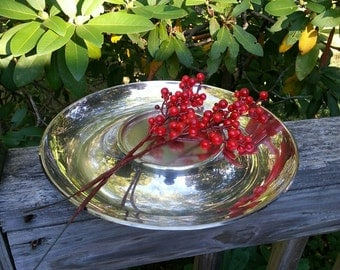 Silverplated Tray, Shabby Chic, Weddings, Silverplated dish