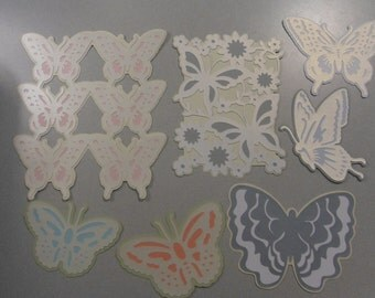 Anna Griffin Elegant Butterfly Cricut Die Cuts