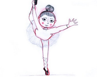 Dancer Illustration