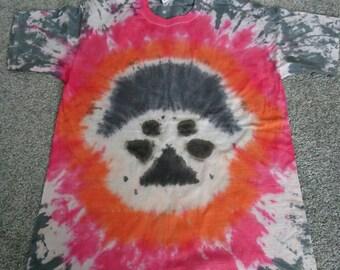 Tie dye darth vader tshirt