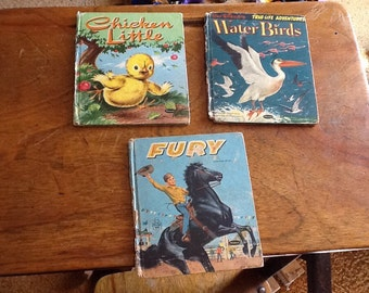 Childrens books from the 1950s